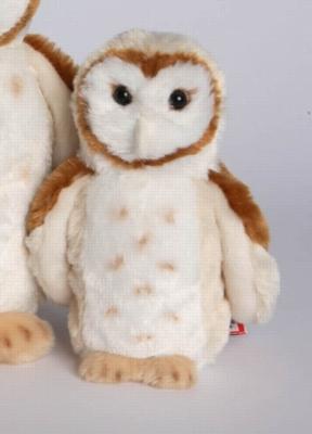 """Rafter Barn Owl - 8"""" Owl By Douglas Cuddle Toy"""