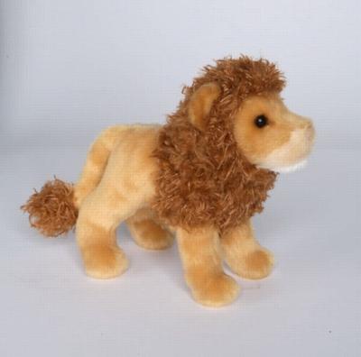 """Lazy - 8"""" Lion By Douglas Cuddle Toy"""