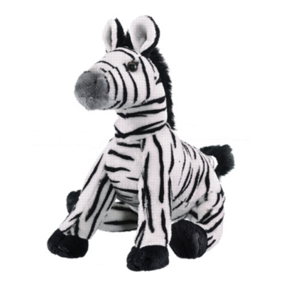 "Zebra - 9"" Zebra by Wildlife Artists"