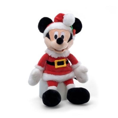 """Holiday Mickey Mouse - 11"""" Disney By Gund"""