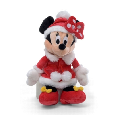 "Holiday Minnie Mouse - 11"" Disney By Gund"