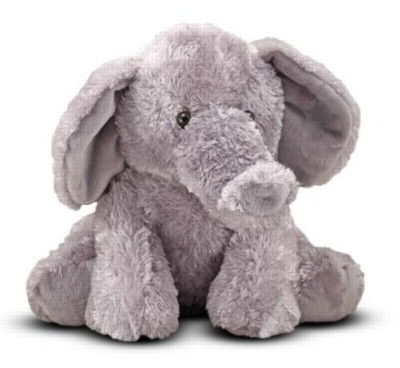 "Sterling Elephant - 9.5"" Elephant by Melissa & Doug"