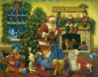 Santa's Beggars - 1000pc Jigsaw Puzzle By Vermont Christmas Company