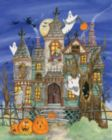 Halloween Puzzles - Haunted House - 1000pc Jigsaw Puzzle By Vermont Christmas Company