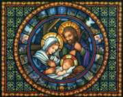 Holy Family - 1000pc Jigsaw Puzzle By Vermont Christmas Company