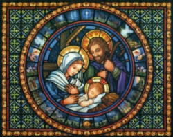 Christmas Puzzles - Holy Family