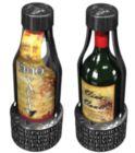 Vino Vault, Antique Chrome Edition - Wine Bottle Entrapment Puzzle
