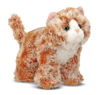 """Trixie Orange Tabby - 8"""" Cat by Melissa & Doug"""