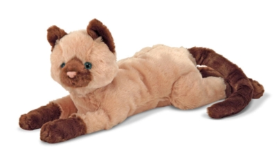 "Sophie Siamese - 23"" Cat by Melissa & Doug"
