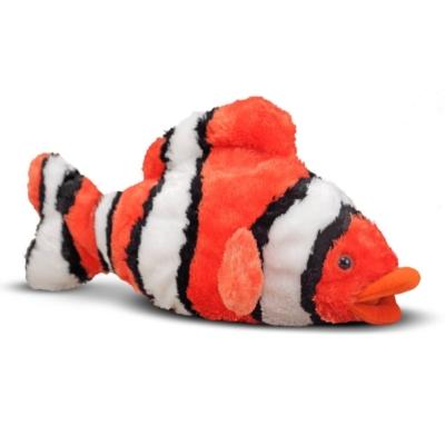 "Bubbles Clown Fish - 10"" Fish by Melissa & Doug"