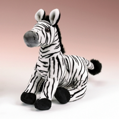 "Zebra - 12"" Zebra by Wildlife Artists"