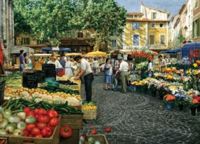 Cobble Hill Jigsaw Puzzles - Sunday Morning