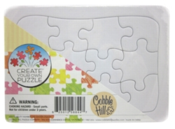 Create Your Own 12pc jigsaw puzzle party favor