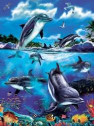 Cobble Hill Children's Puzzles - Dolphin Fantasy