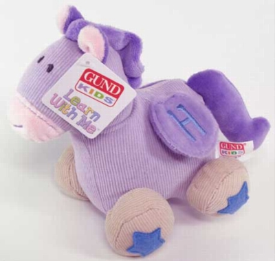 Learn With Me Horse - 6'' Horse By Gund