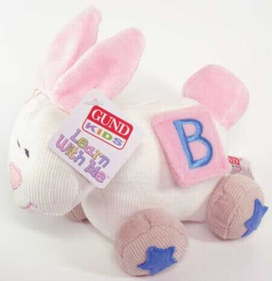 Learn With Me Bunny - 6'' Bunny By Gund