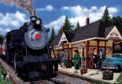 Cobble Hill Jigsaw Puzzles - Kirkland Lake Station
