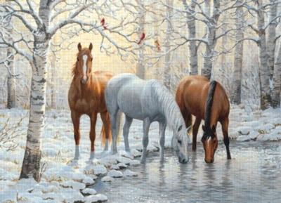 Cobble Hill Jigsaw Puzzles - Winter Trio