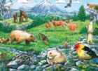 Rocky Mountain Wildlife - 35pc Tray Puzzle by Cobble Hill