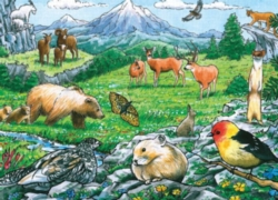 Cobble Hill Children's Puzzles - Rocky Mountain Wildlife