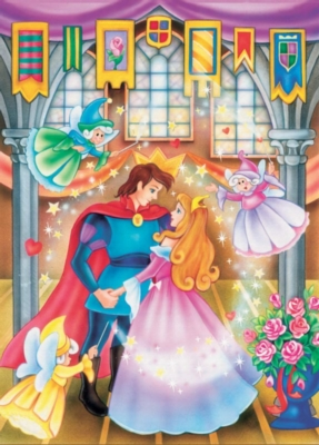 Sleeping Beauty - 20pc Tray Puzzle by Cobble Hill