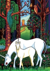 Cobble Hill Children's Puzzles - Unicorn Forest