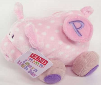 Learn With Me Pig - 6'' Pig By Gund