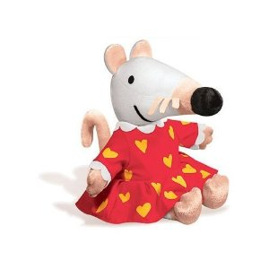 "Maisy in a Party Dress - 9.5"" Mouse"