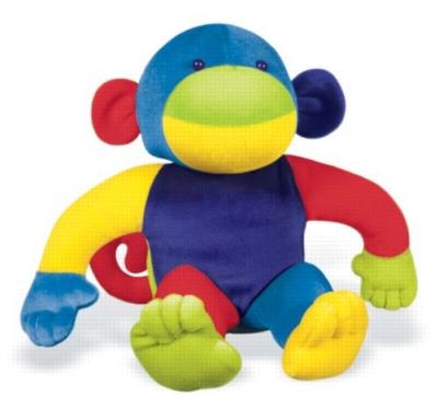 """Velveteens: Monkey - 10"""" Monkey"""