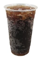 Dart - Clear PET Plastic Cold Cup, 24oz, 24C, 600/cs