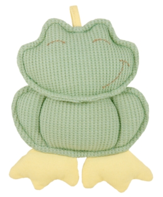 """Organic Frog Rattle - 6"""" Soft Rattles & Teethers"""