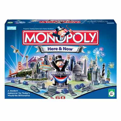 Monopoly: Here & Now Edition - Board Game