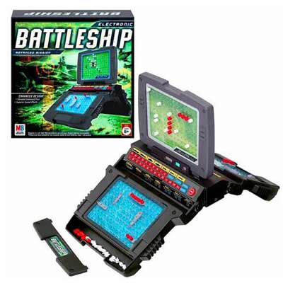Battleship Electronic Advanced Edition - Board Game