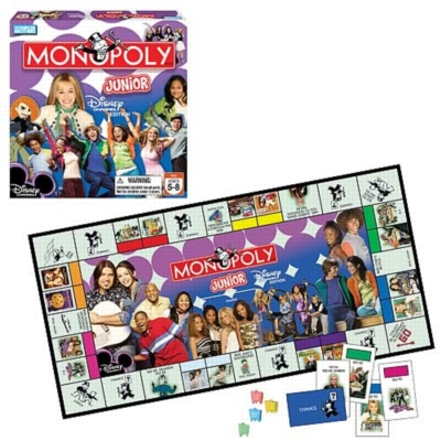 Monopoly Jr: Disney Channel Edition - Board Game