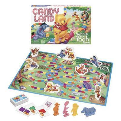 Candy Land: Winnie the Pooh Edition - Board Game