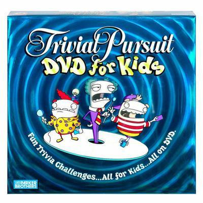 Trivial Pursuit DVD for Kids - Board Game