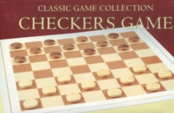 Board Games - Wood Checkers Set