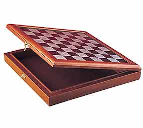 "15.5"" Board and Box Combo - Chessboard"