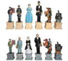 "Civil War - 4.5"" Chessmen"