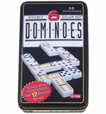Games - Double 6 Domino in Tin