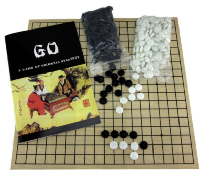Board Games - Go Game with Wood Board