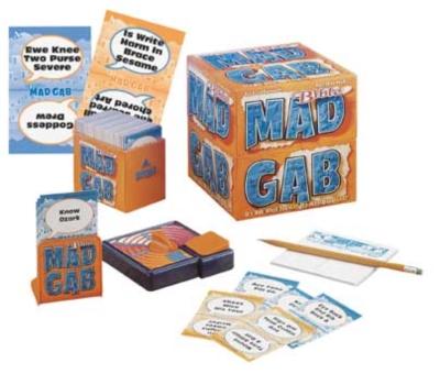 Board Games - Bible Mad Gab