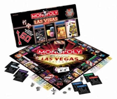 Monopoly: Las Vegas Edition - Board Game