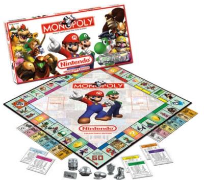 Monopoly: Nintendo Edition - Board Game