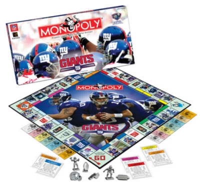 Monopoly: New York Giants 2006 Edition - Board Game