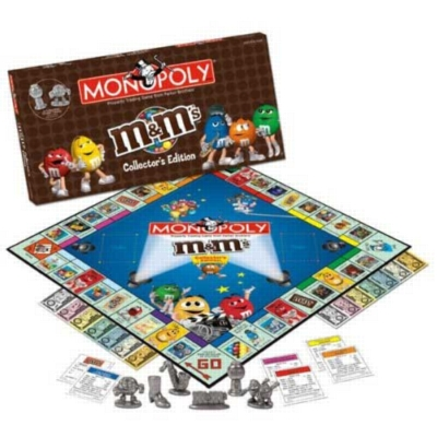 Monopoly: M&Ms Edition - Board Game