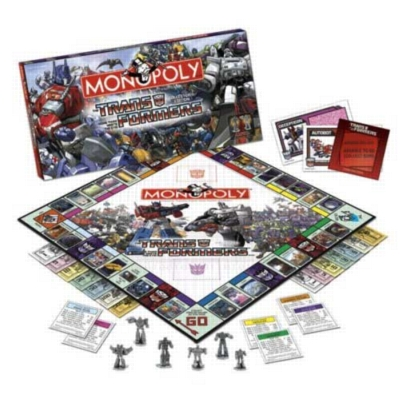 Monopoly: Transformers Edition - Board Game