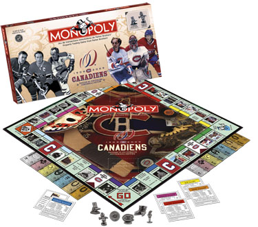 Monopoly: Montreal Canadians Edition - Board Game