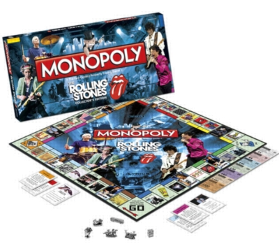 Monopoly: Rolling Stones - Board Game