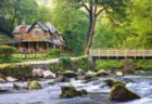 Watersmeet, Exmoor National Park, England - 1000pc Jigsaw Puzzle by Castorland